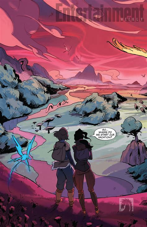 the legend of korra turf wars part one turf wars part 1 8 preview pages