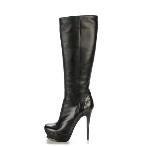 ysl yves laurent nappa tribute 105 platform knee