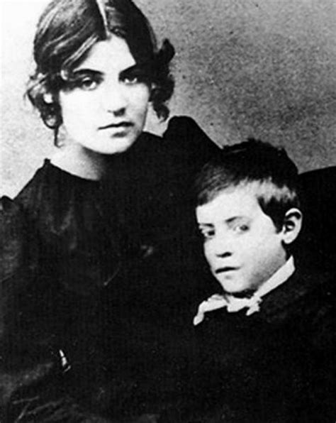 Unknown • Suzanne Valadon and her Son Maurice Utrillo 1889