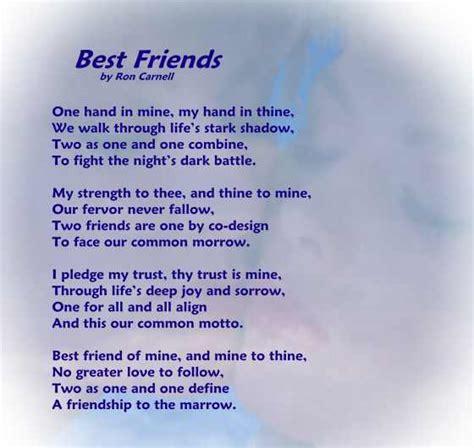 best friend poems poetry greeting cards friendship poem best friends