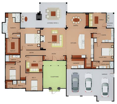 custom built homes floor plans image mag