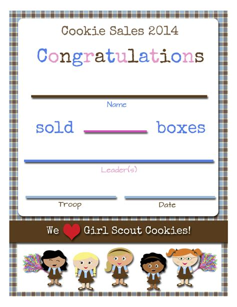 Free Scout Printables