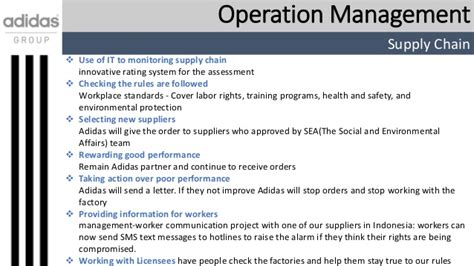 layout design definition in operations management business plan for adidas