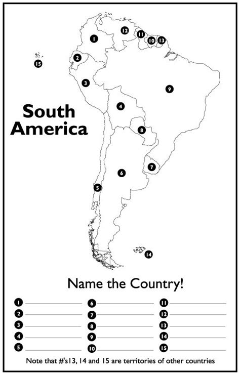 america map quiz printable 25 best ideas about south america map on
