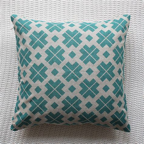 pink patterned cushions patterned linen cushion cover by silk burg