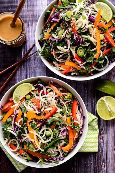 simply vibrant all day vegetarian recipes for colorful plant based cooking books colorful jicama noodle salad with tahini