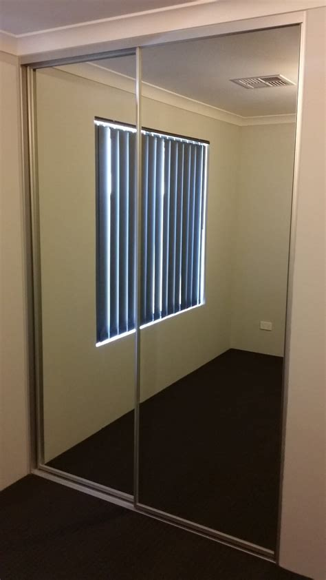 Sliding Mirror Wardrobe Doors by Mirror Sliding Wardrobe Doors Perth