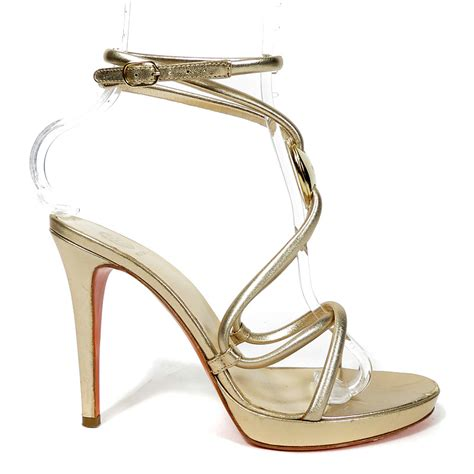 gold sandals high heels strappy gold high heels gold sandals heels