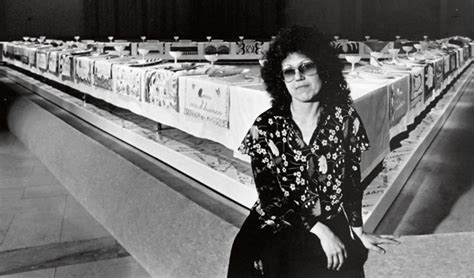 judy chicago the dinner 1979 william simmons 14 from 4 h to judy chicago radcliffe