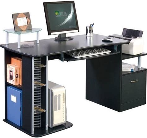 Computer Desk Large by Piranha Pc14g Large Computer Desk With A4 Suspension File