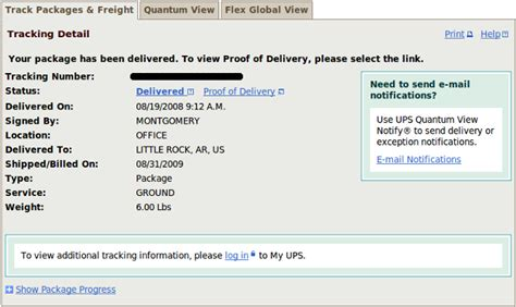Ups Racking by Ups Tracking Number