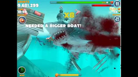 hungry shark evolution megalodon santa dropping bombs eating santa hungry shark evolution megalodon with jetpack eat santa