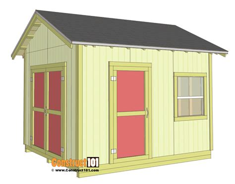gable barn plans how to build a 10x12 shed 28 images 10x12 storage shed