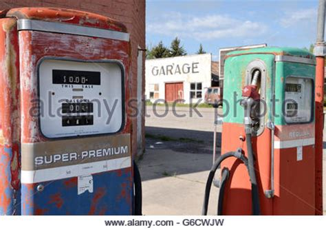 fashioned shell petrol stock photo royalty free