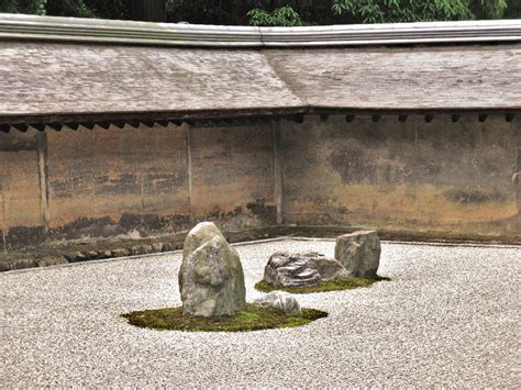 Japanese Rock Garden History Ryoanji 竜安寺 Kyoto S Iconic Rock Garden Temple Letsjapan