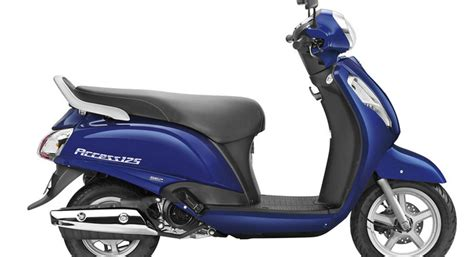 suzuki two wheelers unveils all new access scooter at auto