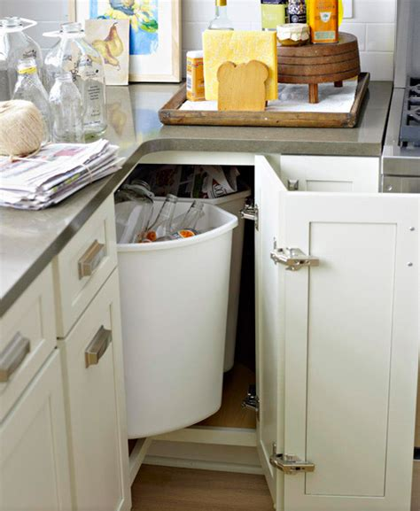 the ideal kitchen appliance storage live simply by annie how to deal with the blind corner kitchen cabinet live
