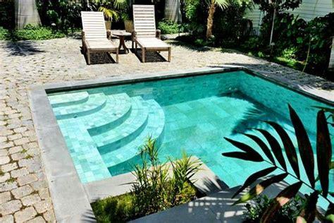 key west florida historic sidewalk cobble pool deck
