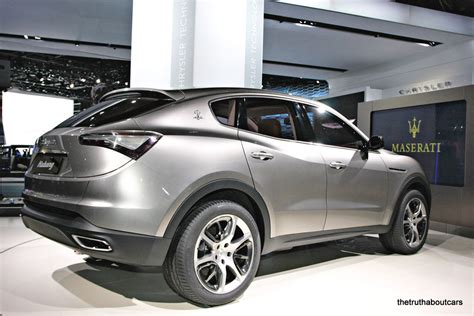 maserati kubang black naias maserati kubang the truth about cars