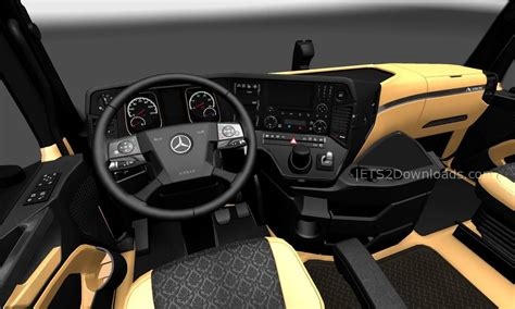 luxury mercedes benz the luxury interior for mercedes benz new actros ets 2