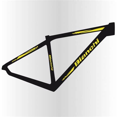 Fahrrad Aufkleber Bianchi by Sticker Bianchi Fahrrad Hochwertigem Vinyl Und Haltbarkeit
