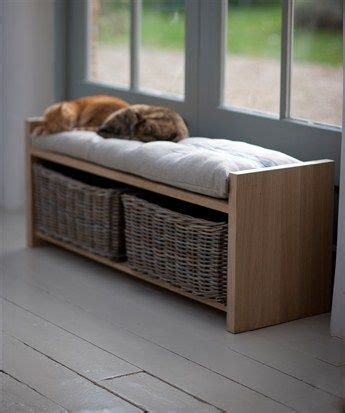 oak storage bench with baskets 1000 ideas about storage bench with baskets on pinterest