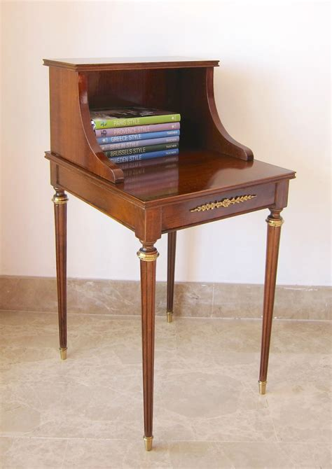 Vintage Telephone Table by Vintage Telephone Table Restored Polished By