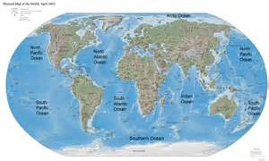 Where Is The Arctic Ocean Located On A World Map by Gallery For Gt Arctic Ocean On World Map
