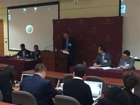 Fsu Jd Mba Program by Professors Eugene Mazo And Zoe Niesel Present At Fourth