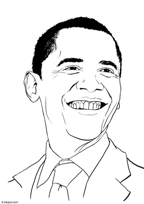 obama coloring pages coloring home