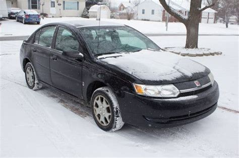 auto air conditioning repair 2003 saturn ion lane departure warning sell used 2003 saturn ion 2 base sedan 4 door 2 2l in lansing michigan united states for us