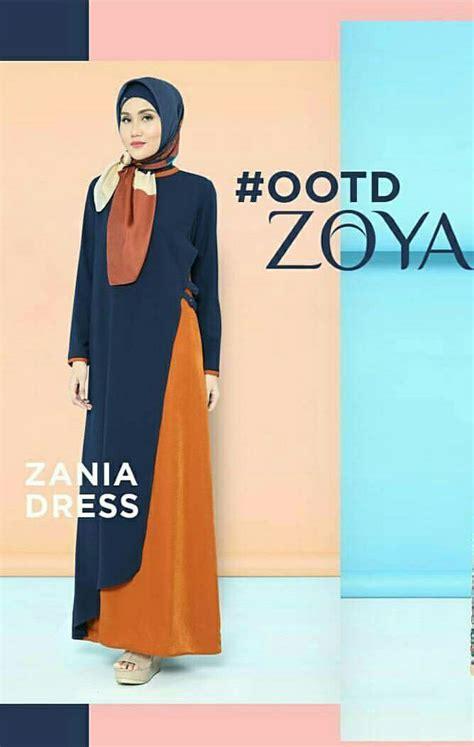 Zania Dress galeri azalia toko baju busana muslim modern dan