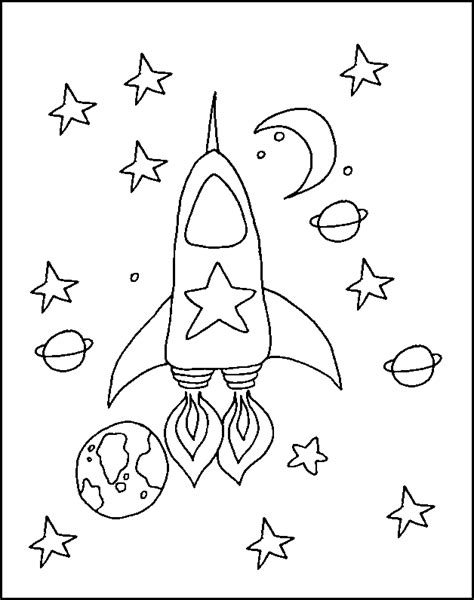 space coloring pages for kindergarten space coloring pages for kids az coloring pages
