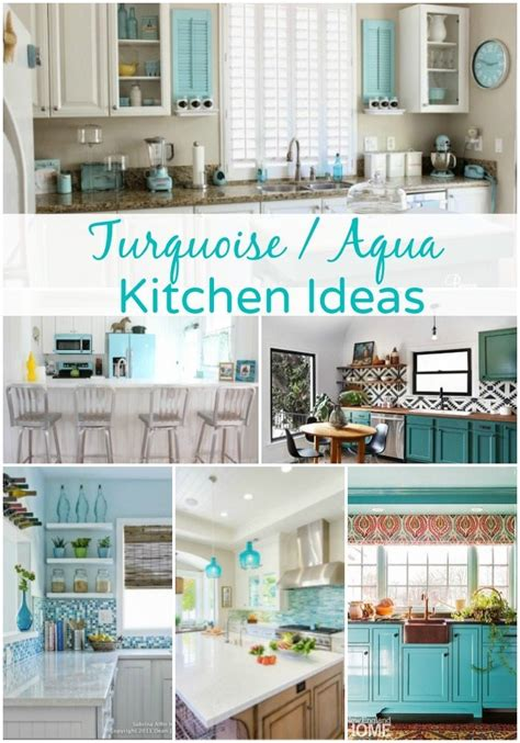 turquoise kitchen decor ideas turquoise kitchen ideas quicua