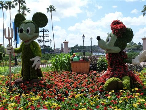 Disney Flower And Garden Disney World Discounts Flower And Garden Festival Olp Travel News Views