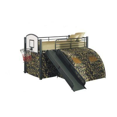 Camo Bunk Bed Camoflauge Loft Bed W Slide My Style Loft Beds Haha And This