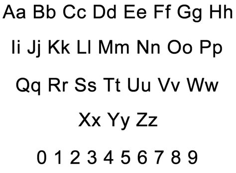 printable letters and numbers printable free alphabet letters and numbers