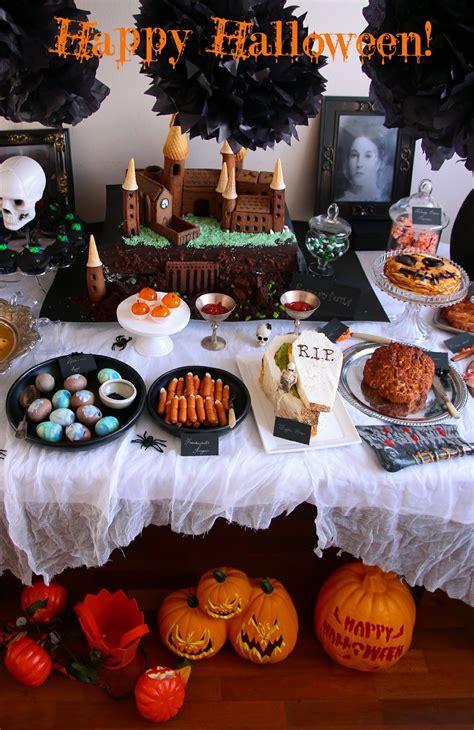 halloween themed treats halloween party food not quite nigella