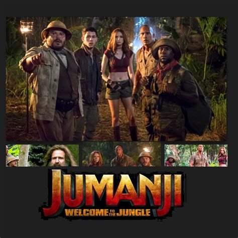 jumanji movie part 2 jumanji 2 welcome to the jungle movie 2017 review