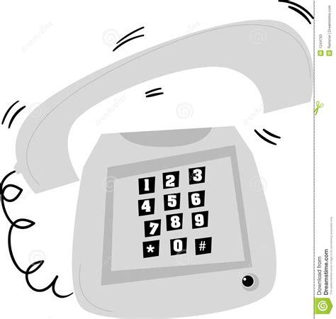 Architecture Desk by Stylized Old Telephone Ringing Stock Photos Image 1244793