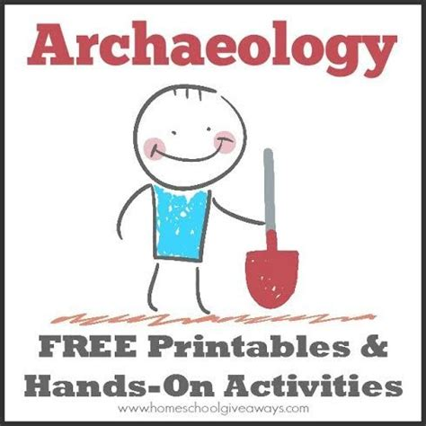 Archaeology Printables archaeology free printables and on activities free