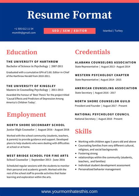 simple effective resume design resume format write the best resume