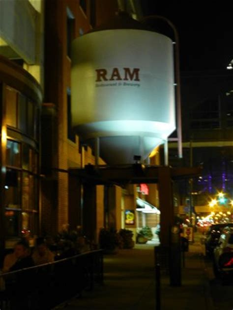 ram brewery indianapolis water tank picture of ram restaurant brewery