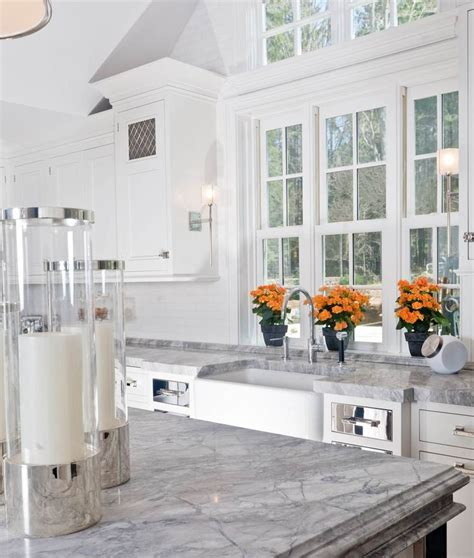 carrara countertops with white cabinets 58 best granite marble images on pinterest white