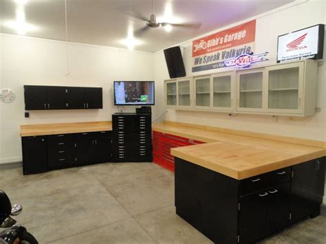 garage workshop bench best garage workbench plans the better garages the