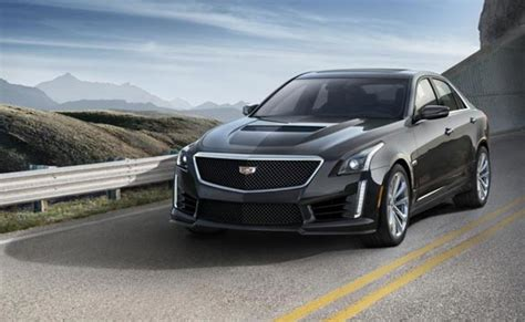 fastest cadillac production car 2016 cadillac cts v as gm s fastest production car