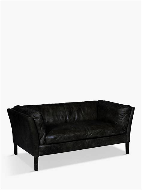 Groucho Leather Sofa by Halo Groucho Medium Aniline Leather Sofa At Lewis