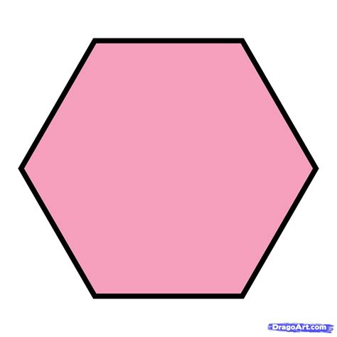 Hexa Gon how to draw a hexagon step by step symbols pop culture free drawing tutorial added