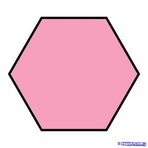 Hexagon Shape - how to draw a hexagon step by step symbols pop culture