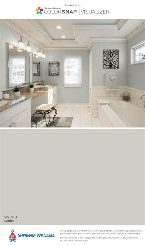 i found this color with colorsnap 174 visualizer for iphone by sherwin williams lattice sw 7654